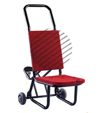 Chair Trolley with third wheel support