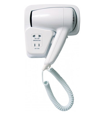 Hair Dryer w/ shaver plug