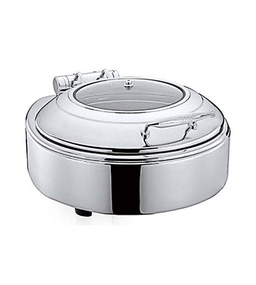 Round Chafing Dish Glass Top